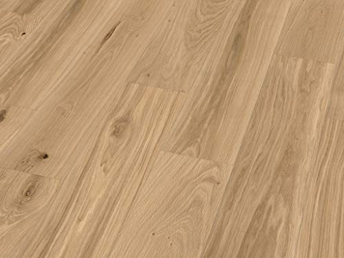 *Hebo Kork Kontrast Korkfertigparkett 4,74m² pro Paket Click (Lobos Holzdekor)*