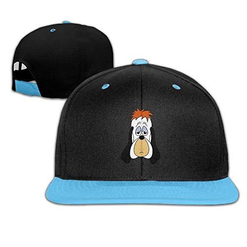Fashion Home Hip Hop Baseball Cap Droopy Dog Head Trucker Flat Hats for Boys Girl