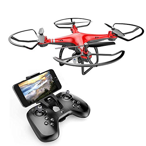 SHIMEINA Dongmingtuo X8 RC Drone Quadcopter FPV 2.4 G 720P Fotocamera WiFi Altitudine Hold,Red