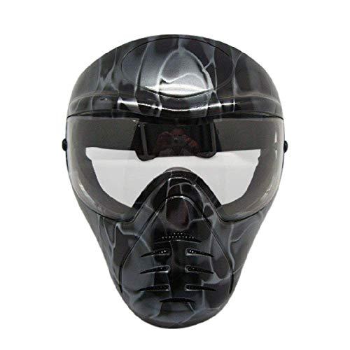 Masken Live Mensch Cs Feld Ausrüstung Paintball Schießen Taktische Ausbildung Schutzmaske Vollgesichts ()