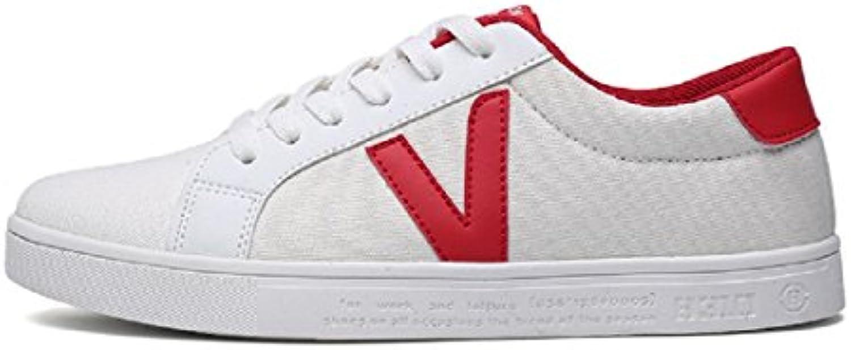 Herren Mode Sportschuhe Draussen Trainer Flache Schuhe Atmungsaktiv Lässige Schuhe Segeltuchschuhe EUR GRöSSE
