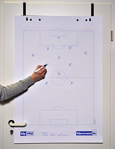 2er Pack bfp Flipchart-Spielfeldblock Fußball