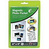 "151, Magnetic Photo Pocket, 6"" x  4"", Fridge Magnets"