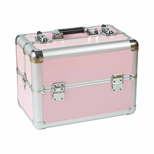 Valise de Beauté de Harmonie Design Rond Compact Case Coiffeur Valise mallette à maquillage