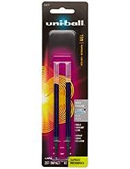 Refill for uni-ball Gel IMPACT RT Roller Ball Pens, Bold, Blue, 2/Pack