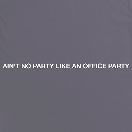 Office Party T-Shirt, Herren Anthrazit