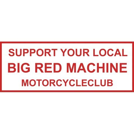 Hells Angels WorldWide Support Store / Big Red Machine World - Aufkleber Hells Angels Sticker Support81 BRM Motorcycleclub