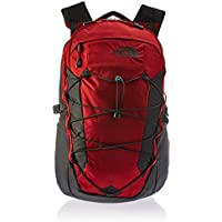 The North Face Equipment TNF Mochila Borealis, Unisex adulto, Rage Red Ripstop/Asphalt Grey, Talla única