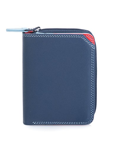 25fb6b64fc02 billetereo monedero de piel para mujer -mywalit - small wallet w/ zip  around purse - 226-127 - royal