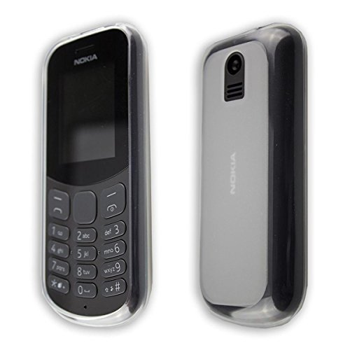 custodia Nokia 130 (2017) TPU-Custodia cover, copertura in colore transparente