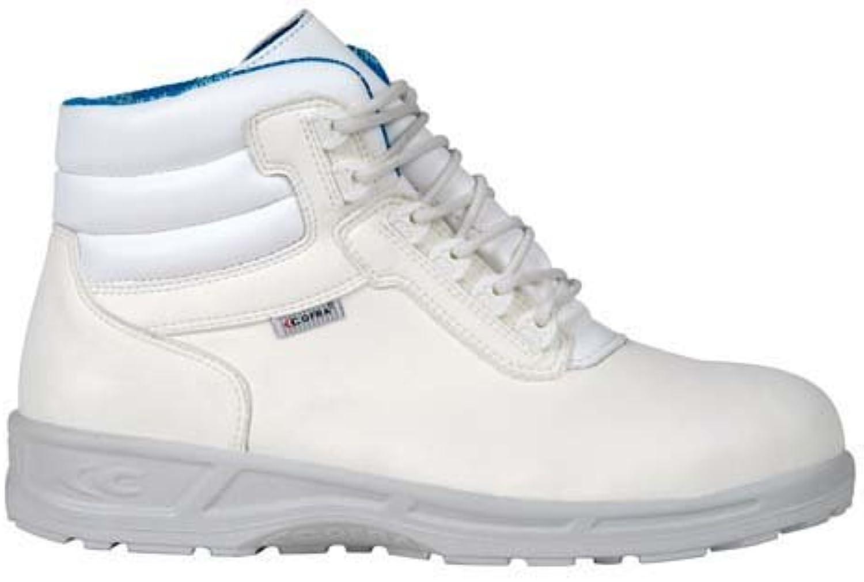 Cofra 76450 – 000.w37 Hospital zapatos,Lab, tamaño 4, color blanco