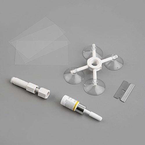 ulable Glas Crack Reparatur Kit Windschutzscheibe Windschutzscheibe Reparatur Werkzeug KFZ-Kit Glas
