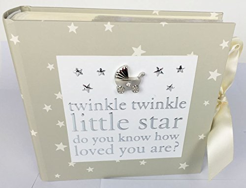 Baby Shower Regalo Mum To Be A Mummia Unisex Keepsake- 'Twinkle' Album fotografico