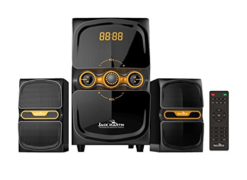 Jack Martin 222 2.1 Bluetooth/SD Card Multimedia Speaker System with Built in FM