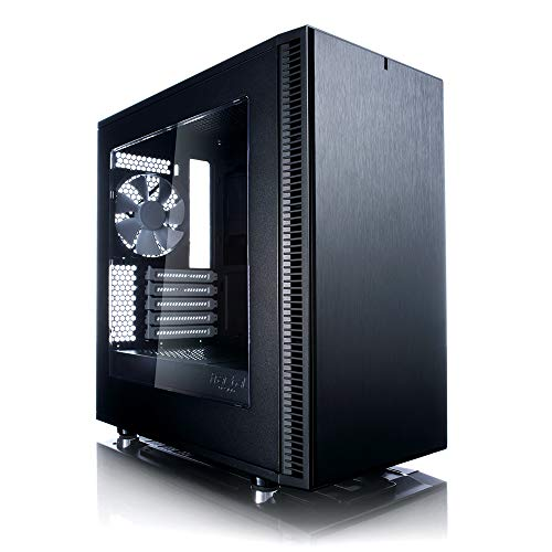Fractal Design Define Mini C, PC Gehäuse (Midi Tower) Case Modding für (High End) Gaming PC, schwarz
