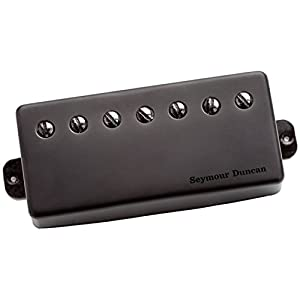 Seymour Duncan S Sent PM BM 7 STR sentient (7 String) Neck, Passive Mount Metal Cover Nero