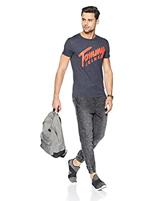 Tommy Hilfiger Men's Printed Regular Fit T-Shirt