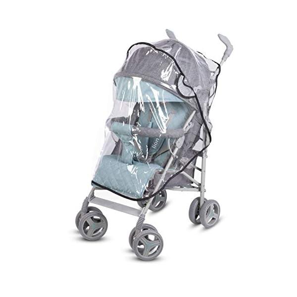 Lionelo Irma Folding Stroller with Backrest Adjustment 6 Inch Wheels Lionelo  9
