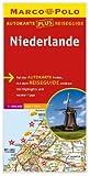 Marco Polo Autokarte plus Reiseguide Niederlande 1:300 000 - MARCO POLO autokarten plus