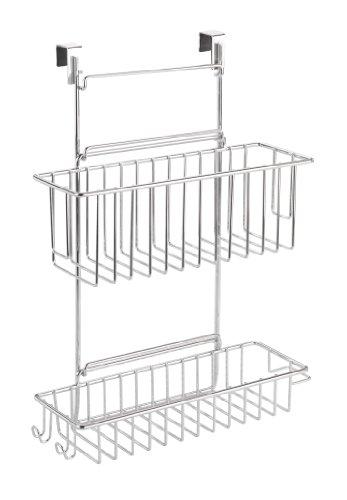 22 99 wenko 8181100 panier accrocher sans visser flexi. Black Bedroom Furniture Sets. Home Design Ideas