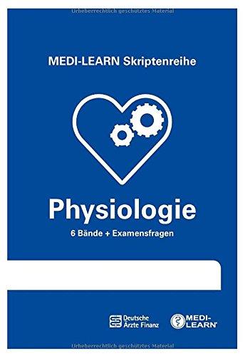 MEDI-LEARN Skriptenreihe: Physiologie im Paket - In 30 Tagen durchs schriftliche und mündliche Physikum