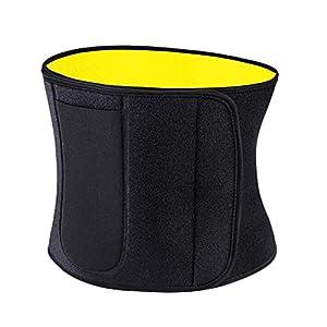 LAIABOR Taillen-Trimmer Slimmerbelt Wrap Fitness-Gürtel Gürtel Gürtel Lendenwirbel Unterstützung Gürtel Gesundheit Lendenwirbelsäule Unterstützung Massage Gürtel Unisex