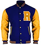 Riverdale Archie Andrews KJ APA Varsity Letterman R Bomberjacke für Herren  und Damen-m 93a4856b24