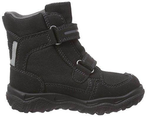 Superfit HUSKY, Bottes de neige de hauteur moyenne, doublure chaude garçon Noir - Noir (00)