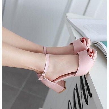 Sandales femmes Confort Printemps occasionnels en PU Rouge Rose Violet Bleu Beige Blushing Pink