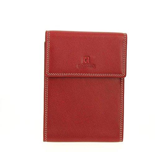 Le Tanneur, Borsa a spalla uomo rosso rosso 14.0 (L) X 10 (H) cm