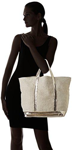Vanessa Bruno Damen Cabas Grand Einkaufstasche, 19x56x36 cm Beige (Sand)