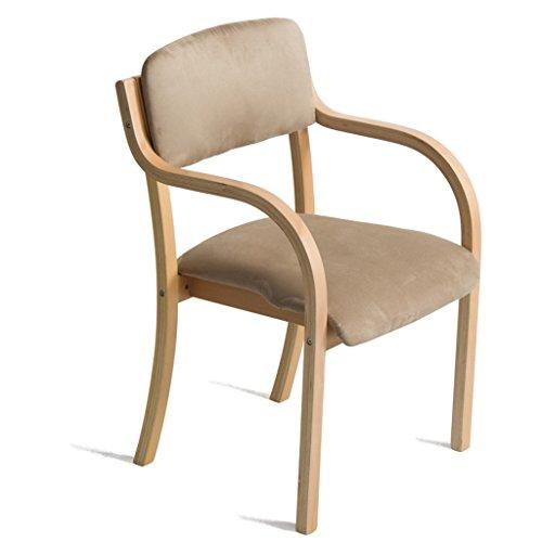 Moreko Barock Antik Stil Stuhl Massiv Holz Sessel Weiss Rosa