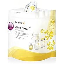 Medela Quick Clean - Bolsas de esterilización reutilizables