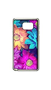 Colorful Flowers Stylish Mobile Case/Cover For Samsung Galaxy note 5