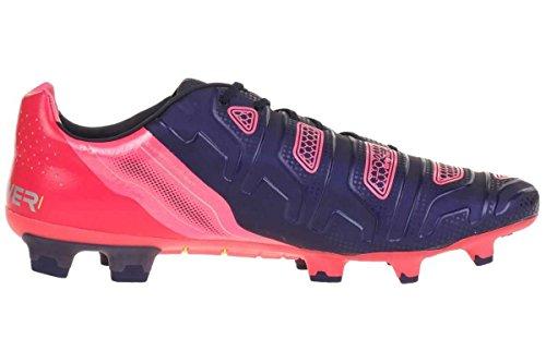 Puma evoPOWER 1.2 FG, Calcio scarpe da allenamento uomo Blau (peacoat-white-bright plasma 01)