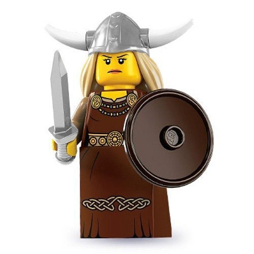 Lego - Mini Figures - Serie 7 - Viking Woman