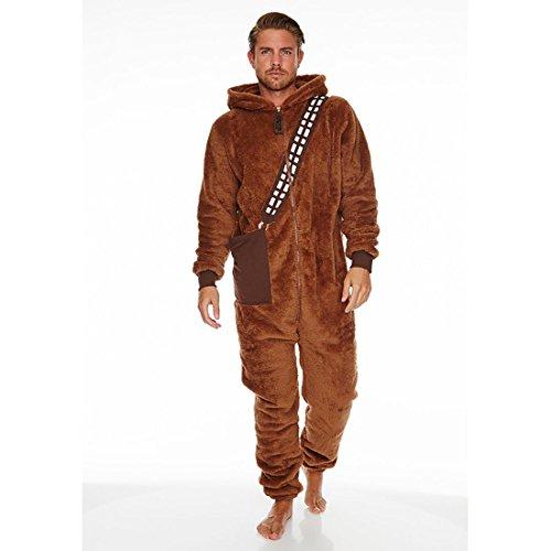 Alte Stormtrooper Kostüm - Star Wars Chewbacca Overall braun, Braun, Standard