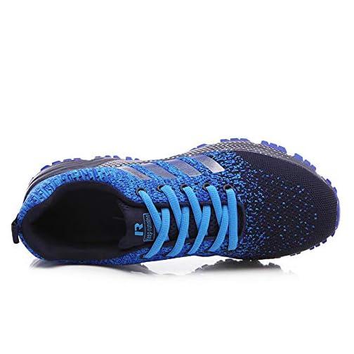 Uomo Donna Scarpe da Ginnastica Fitness Sportive Running Basket Sneakers  All Aperto Jogging Trekking Basse Antiscivolo Leggero ... 5175c16ffa5