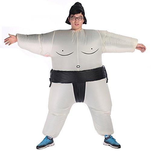 Suyi costume lottatore sumo gonfiabile per adulto/bambino da carnevale halloween by hi