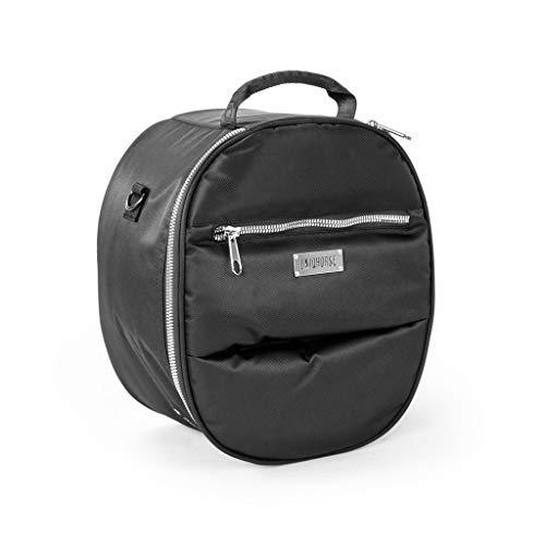 UNIQHORSE Helm & Zylinder Tasche Schwarz - Tasche für Helme und Zylinder - Für Reiter entwickelt