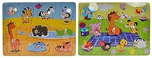 Item Puzzle Madera Encajes Animales JE-145210