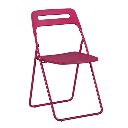 Ynhkkt Klappstuhl, Kunststoff rückenlehne Home Office Stuhl, Outdoor Freizeit Stuhl, IKEA Training Computer Stuhl, tragbare esszimmerstuhl