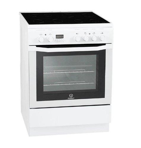 Indesit I6V6C6A (W) / FR Autonome A Blanc four et cuisinière - Fours et cuisinières (Cuisinière, Blanc, boutons, Rotatif, En haut...