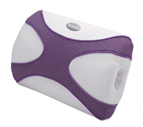 Scholl X-Pop, Cuscino da Massaggio, Colore Viola