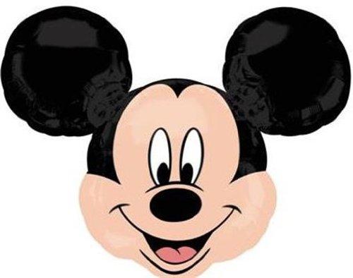 Street Treats Globo grande de papel de helio Mickey Mouse 35 'x 30' (suministrado en plano)