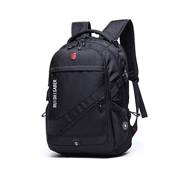 Swiss Backpack Men travel laptop notebook backpacks 15.6 Inch Fashion Waterproof Oxford school bags for teenagers Women Bagpack
