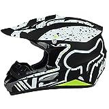LUHUIYUAN Downhill-Helm für Motorradhelm Off-Road-Rennhelm,b,XL