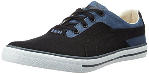 Puma Unisex Slyde Idp Puma Black and Vintage Indigo Sneakers - 9 UK/India (43 EU)