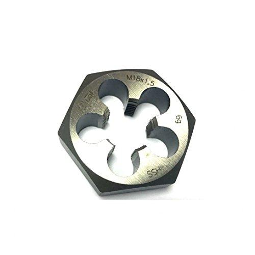 Hexagonal Washer Nut High-Speed Steel Medium-Sized M9x 1HSS Fine Thread Cutting Die DIN 386–High Quality
