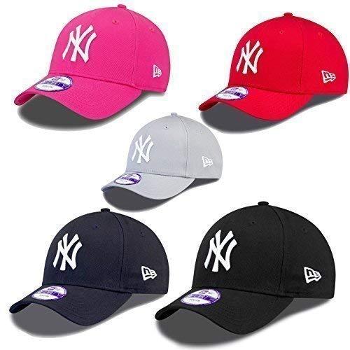 5f85642a8175f New Era 9forty Strapback Niños Gente joven Gorra MLB New York Yankees  varios colores - Rojo